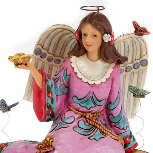 Summer's splendor surrounds us, ange avec papillons s2