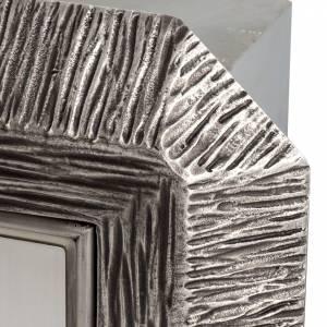 Tabernacolo IHS ottone, immagine bronzo s6