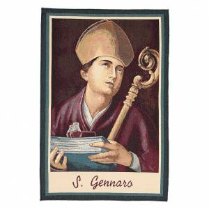 Tapisseries religieuses: Tapisserie Saint Janvier de Bénévent 65x45 cm