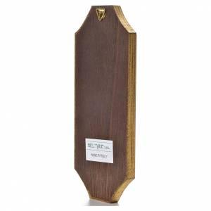 Tavola sagomata 18,5x7,5 cm Adorazione del bambino s2