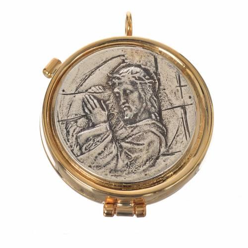 Teca Cristo Crucis diam 5,3 cm s1