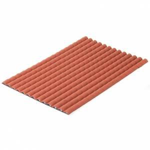 Tejado con teja de color rojo s1