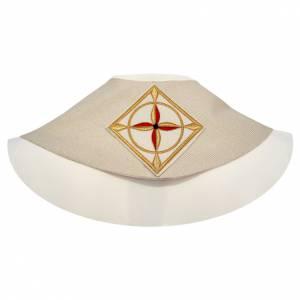 Étole liturgique avec franges en 100% laine s2