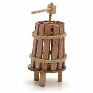 Attrezzi da lavoro presepe: Torchio legno 4 cm presepi fai da te