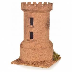 Torre corcho 13x13x20.5 cm. belén napolitano s2