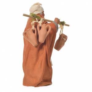 Traveller with amphorae, Neapolitan Nativity 10cm s2