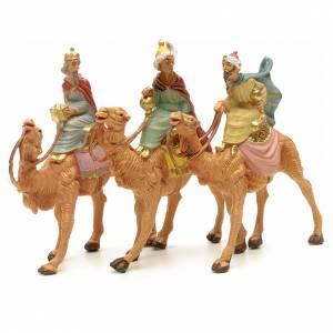 Tre Re Magi a cammello 6,5 cm Fontanini s1