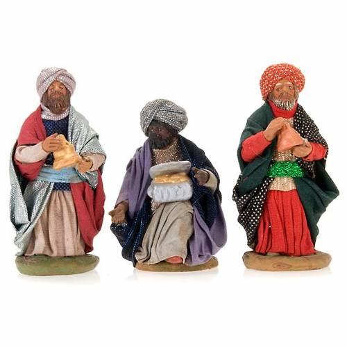 Tres Reyes 10 cm terracota s1