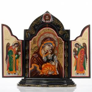 Trittico Russia dipinto 18 x 12 cm s1