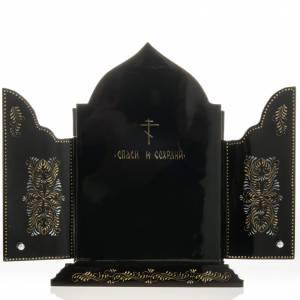 Trittico russo Mstjora Madonna della Tenerezza 17,5x21 s6