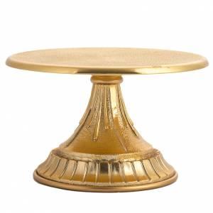 Tronetto in ottone dorato s3
