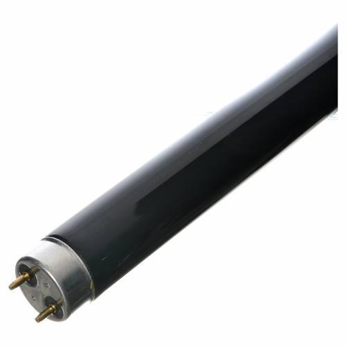 Tube néon lumière noire effet ultraviolets 18W s2
