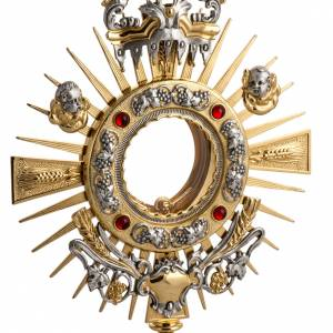 Two tone monstrance with putti s4