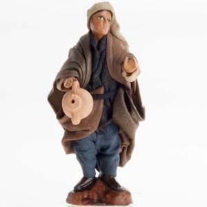 Uomo con brocca 8 cm presepe di Napoli s1