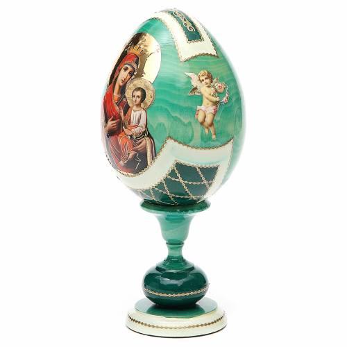 Uovo découpage Russia Odigitria Gorgoepikos tot h 20 cm stile Fabergè s2