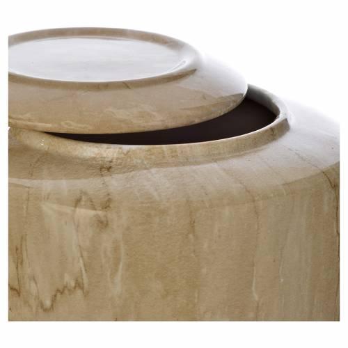 Urna funeraria porcellana mod. Botticino s2