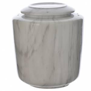 Urna funeraria porcellana mod. Carrara s1
