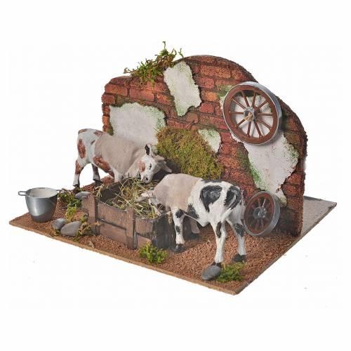Vacas 10 cm. escenografía belén napolitano s3