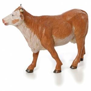 Vache debout crèche Fontanini 30 cm s1