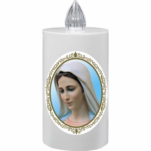 Veilleuse électrique Lumada Notre Dame de Medjugorje s1