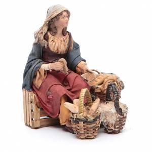 Venditrice di pane 13 cm Angela Tripi s3