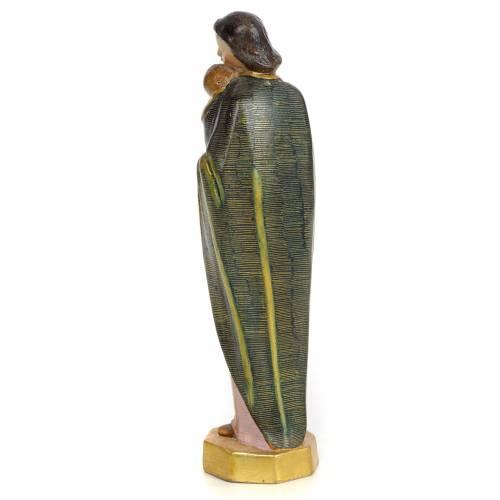Vierge à l'Enfant 30 cm pâte à bois finition spéciale s3