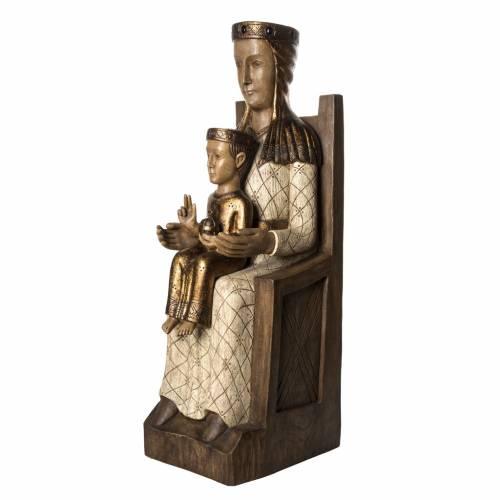 Vierge Catalane 105 cm bois peint Bethléem s3