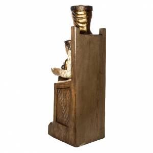 Vierge Catalane 105 cm bois peint Bethléem s4