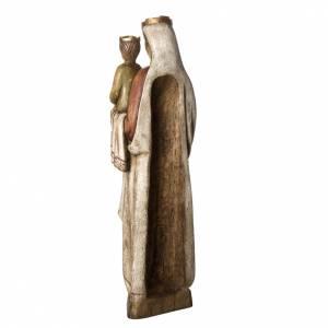 Vierge Normande 103 cm bois Bethléem s4