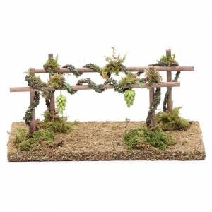 Muschio, licheni, piante, pavimentazioni: Vigneto 10x15x10 cm per presepe