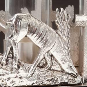 Vinajeras Metal: Vinajeras ciervos en la fuente