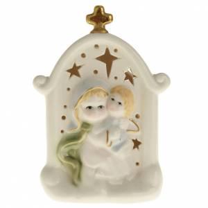 Virgen con niño cerámica s1