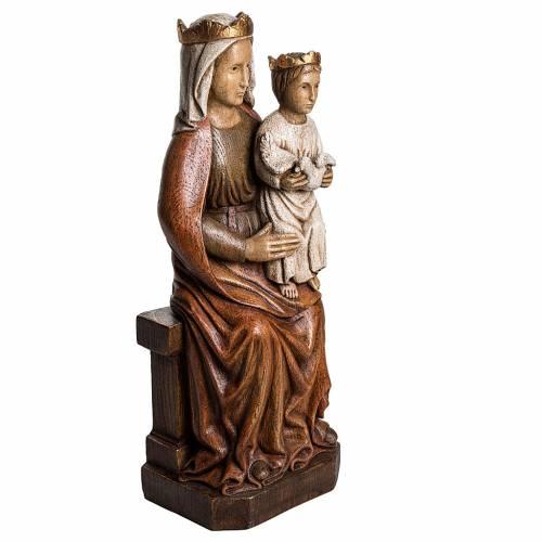 Virgen de Liesse 65cm piedra Bethléem s2