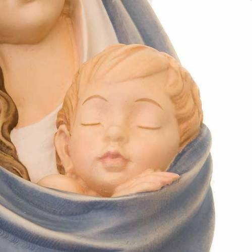 Virgen en relieve de madera s2