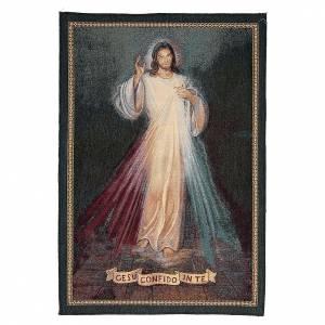 Wandteppiche: Wandteppich Jesus Barmherzigkeit