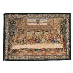 Wandteppiche: Wandteppich letzte Abenmahl Leonardo da Vinci 45x65cm