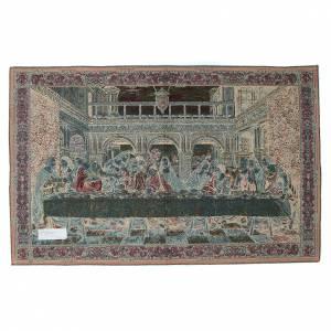 Wandteppiche: Wandteppich letzte Abenmahl Leonardo da Vinci 65x110cm