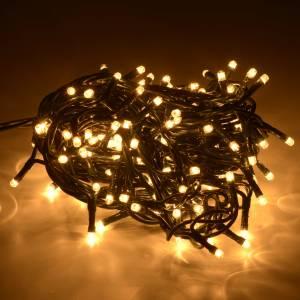 Weihnachtslichter: Weihnachtslichter 180 Minilichter warmweiß für Innengebrauch