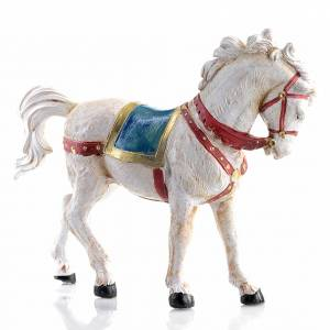 White horse 12cm by Fontanini s1