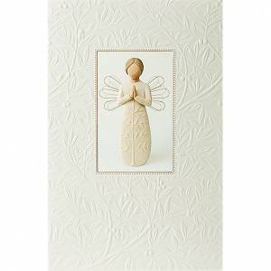 Greeting cards: Willow Tree Card - A tree, a prayer 21x14