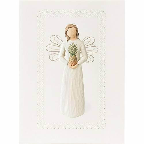 Willow Tree Card - Welkoming Angel (Bienvenido angel) 14x10,5 s1