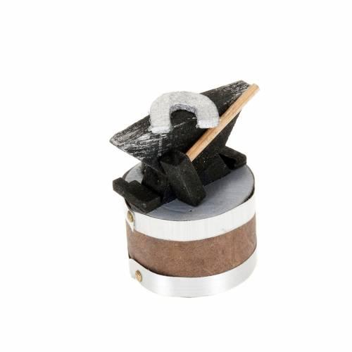 Yunque para pesebre 4x3 cm s1