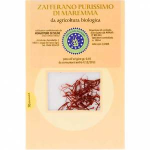 Zafferano purissimo Monastero di Siloe 0,10 gr s1