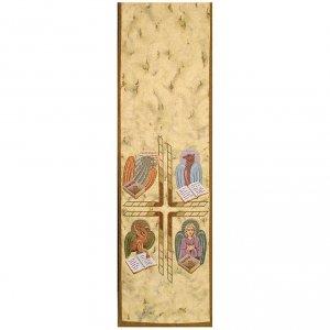 4 evangelists' symbols pulpit cover<br> s1
