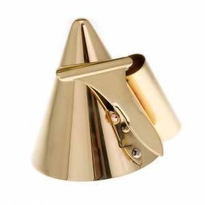 Accendi- spegni candele ottone dorato s2