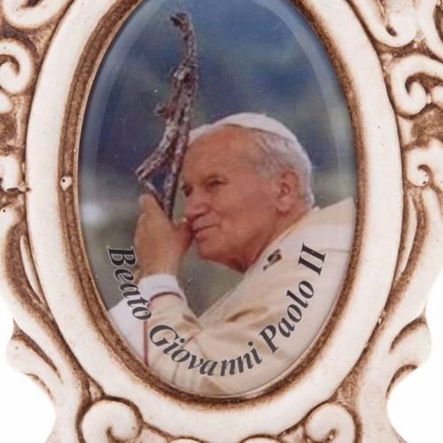 Acquasantiera Giovanni Paolo II s3