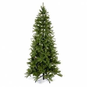 Albero di Natale 240 cm Poly Slim verde Bayberry Spruce s1