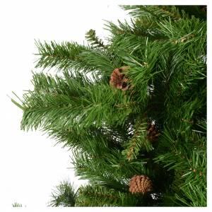 Albero di Natale verde pigne 210 cm Praga s3