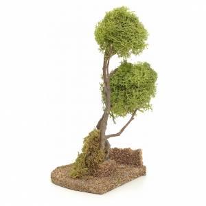 Albero lichene per presepio h 20 cm s3