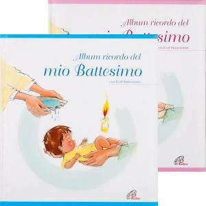 Libri per bambini e ragazzi: Album ricordo del mio Battesimo + CD